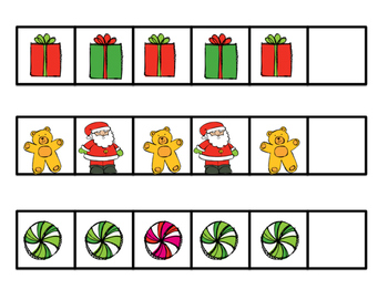 Christmas Themed Pattern Cards