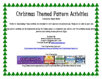 Christmas Themed Patterns