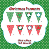 Christmas Themed Pennant/Bunting