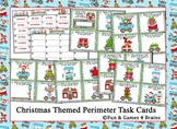 Christmas Themed Perimeter Task Cards