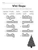 Christmas Themed Phonics Worksheets