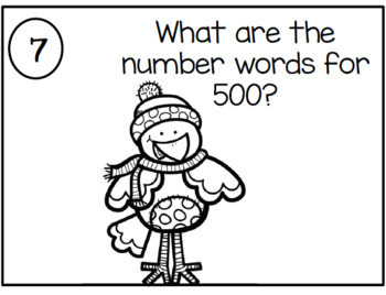 Christmas Themed Place Value Practice for 2NBT3 {Common Core Aligned}