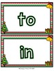 Christmas Themed Play Doh Mat- Sight Words
