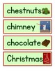 Christmas Themed Pocket Chart/Word Wall Cards With Pictures