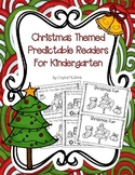 Christmas Themed Predictable Readers and Writing Prompts for Kindergarten