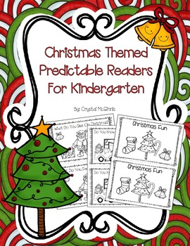 Christmas Themed Predictable Readers and Writing Prompts f