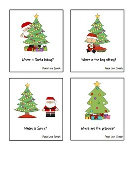 Christmas Themed Prepositions
