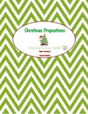 Christmas Themed Prepositions
