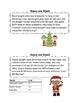 Christmas Themed Problem Solving Flip Ring - Multiple Strategies