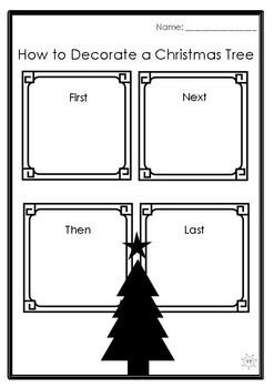 Christmas Themed Procedural Writing