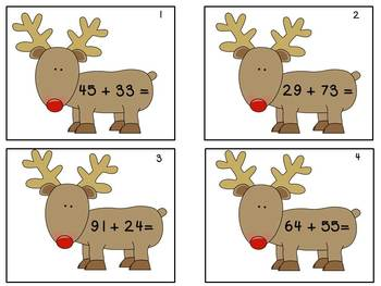 Christmas-Themed Reading, Writing and Math Activities