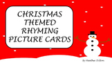 Christmas Themed Rhymed Picture Cards