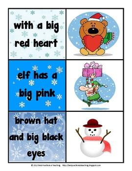 Christmas Sight Word Fluency