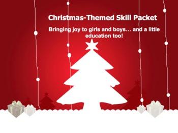 Christmas Themed Skill Packet