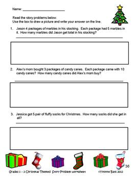 Skip Counting and Multiples Christmas Theme
