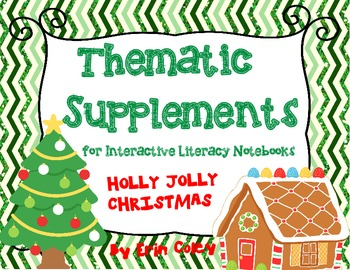 Christmas Themed Supplements for Interactive Literacy Notebook