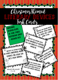 Christmas Themed Literary Device Task Cards
