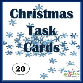 Christmas Themed Task Cards