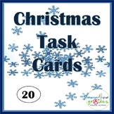 Christmas Task Cards - activities, creativity, imagination