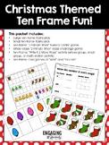 Christmas Themed Ten Frame Fun Activities