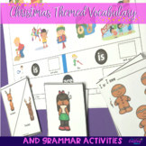 Christmas Themed Vocabulary & Grammar Activities