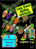 Christmas-Themed Word Sort - Short, Long, & Irregular Vowe