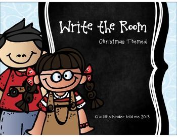 Christmas Themed Write the Room