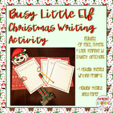 Christmas Themed Writing Activity-Christmas ELF