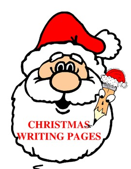 Christmas Themed Writing Pages
