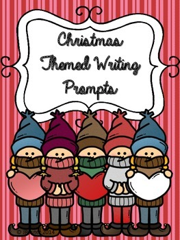 10 Christmas Writing Prompts - Upper Grades
