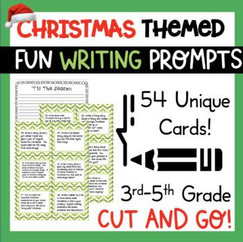 Christmas Holiday Writing