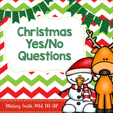Christmas Themed Yes/No Questions for Speech Therapy