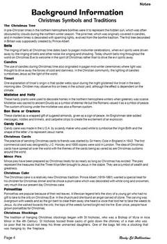 Christmas Themes - Teachers' Notes