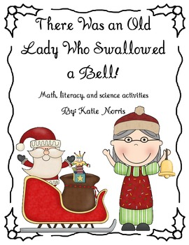 Christmas-There Was an Old Lady Who Swallowed a Bell! Book Activities