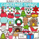 Christmas Things Clipart by Bunny On A Cloud