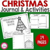 Christmas Think Book Student Journal