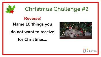 Christmas Thinking Activities