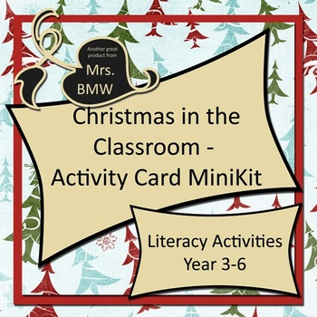 Christmas Thinking and Literacy Activities MiniKit - 1