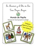 Christmas Three Kings Day Bilingual Holiday Printable Span