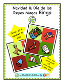 Christmas Three Kings Day Tres Reyes Magos Mini Bingo Card