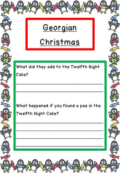Christmas Through History, Activities, Reading, Writing and Crafts