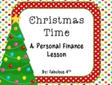 Christmas Time:  A Personal Finance Lesson
