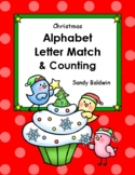Holiday Alphabet Letter Match & Counting