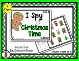Christmas Time Book 2 - Adapted 'I Spy' Easy Interactive R