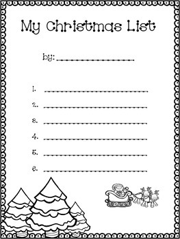 Christmas Literacy and Writing Activities