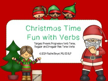 Christmas Time Fun With Verbs!