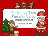 Christmas Time Fun With Verbs!