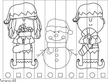 Christmas Time Math & Literacy Activities