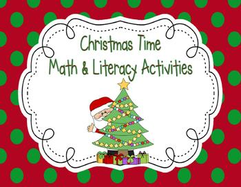 Christmas Time Math & Literacy Activities