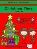 Christmas Time Math Pack for Preschoolers
